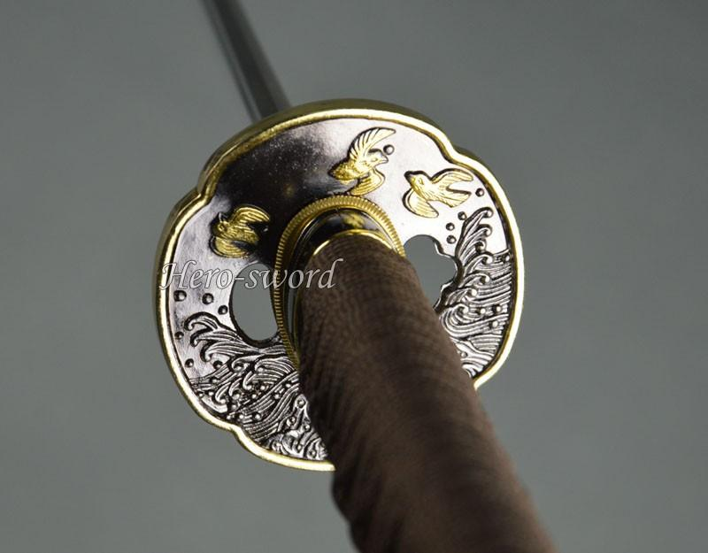 New Japanese Katana Tsuba Da Yan Samurai Sword Guard Alloy Material Sword Fitting